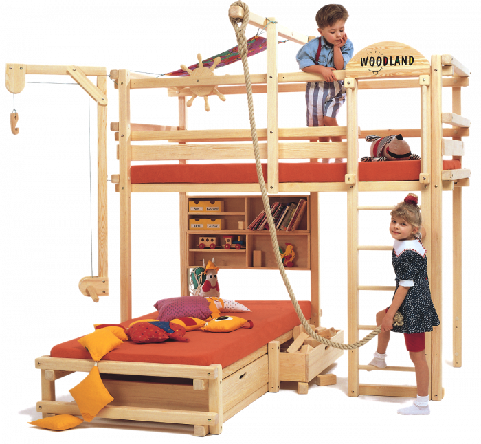 Children S Bunk Bed Calgary Comfortable And Multifunctional