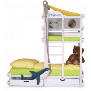 CAPT´N COOK children's bed white