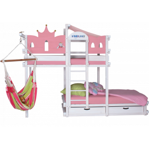 AMARILLO bunk bed white