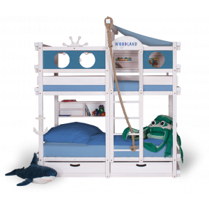 MONTEREY bunk bed white