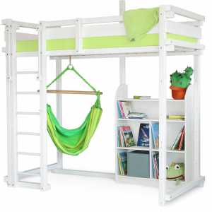 MISSISSIPPI loft bed white