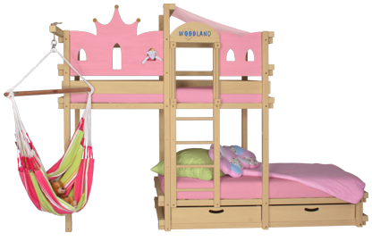 Bunk bed princess