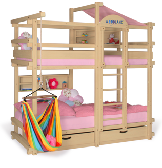 Bunk bed beech