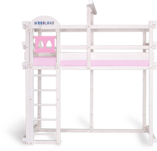 Loft bed princess ladder entrance security