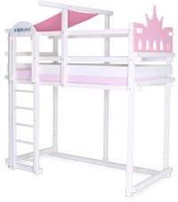 Loft bed princess head/foot side